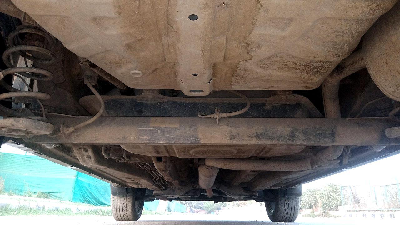 Spinny Assured used Tata Nexon underbody