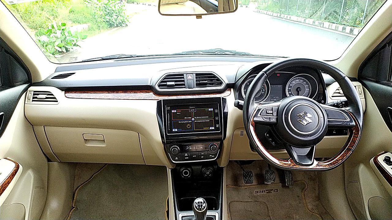 Spinny Maruti Suzuki Dzire Interior