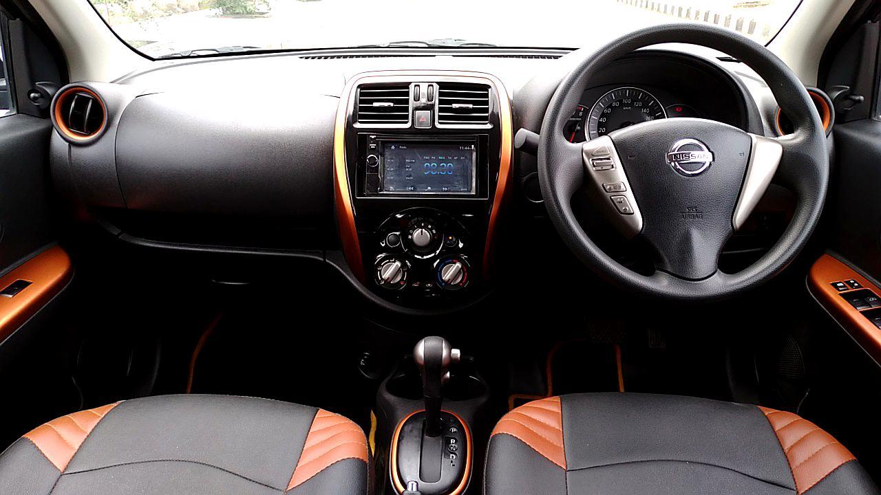 Spinny Assured Nissan Micra CVT interior