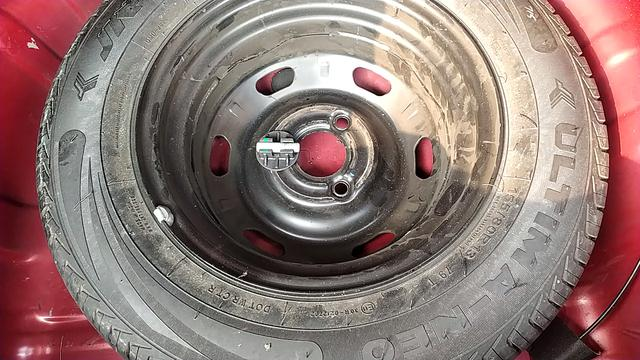 SPARE TYRE VIEW