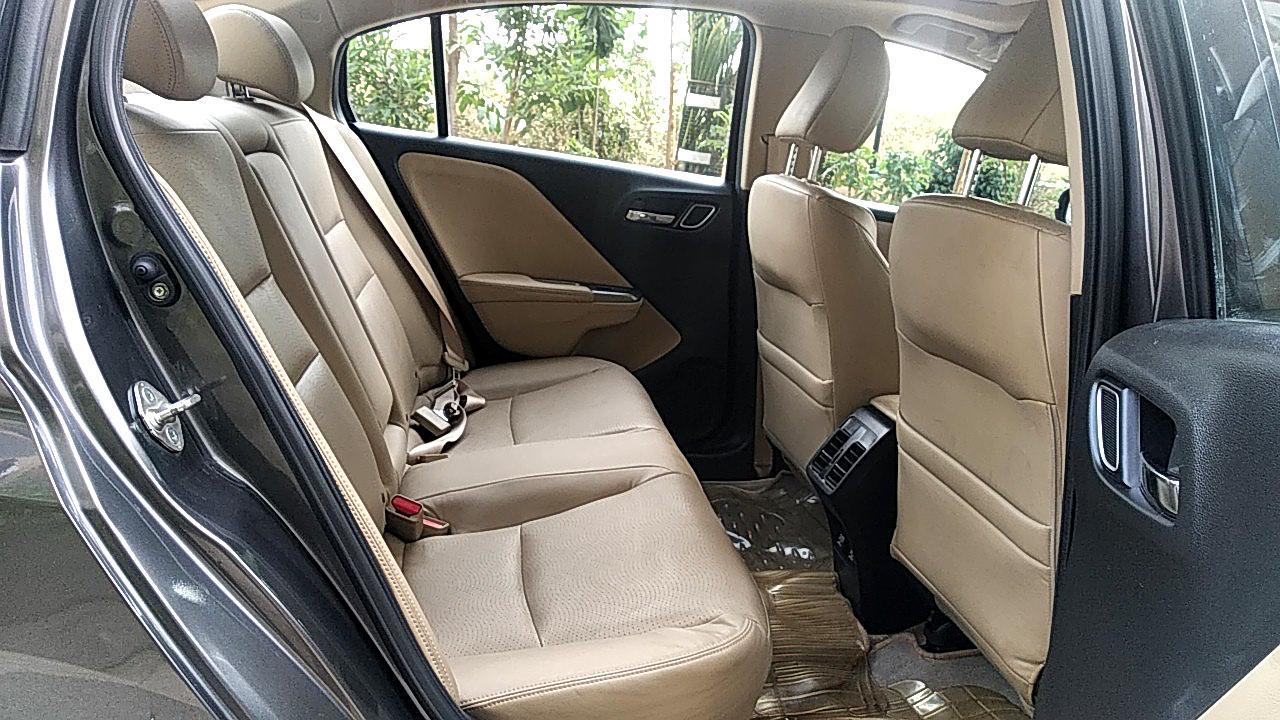 Spinny Assured Honda City Interior rear