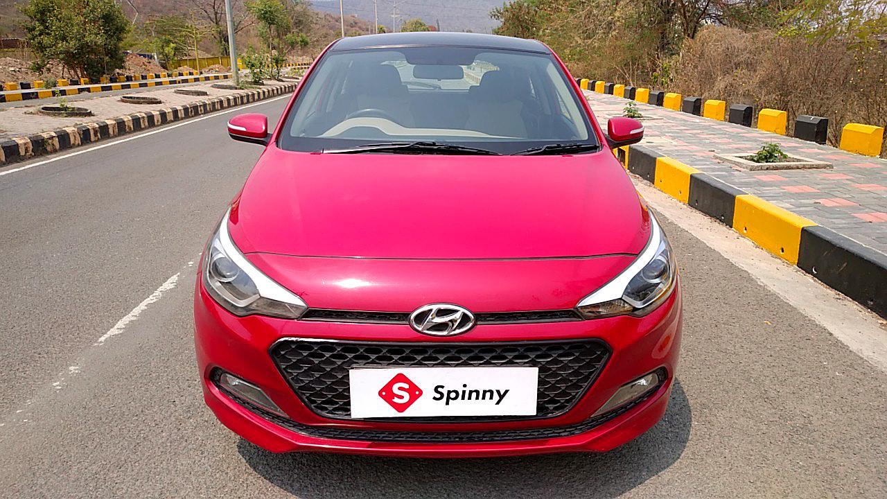 Spinny Assured used Hyundai Elite i20 front