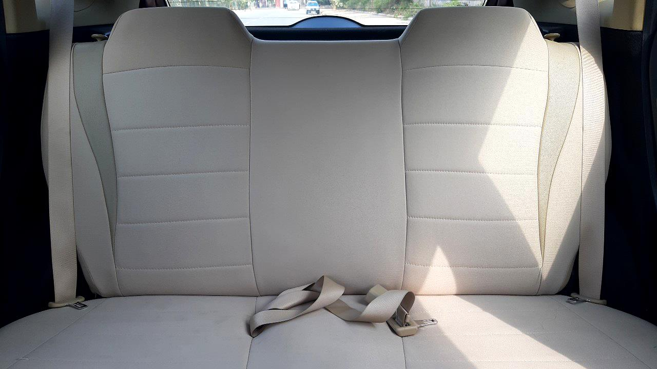 Spinny Assured Honda Jazz rear seats