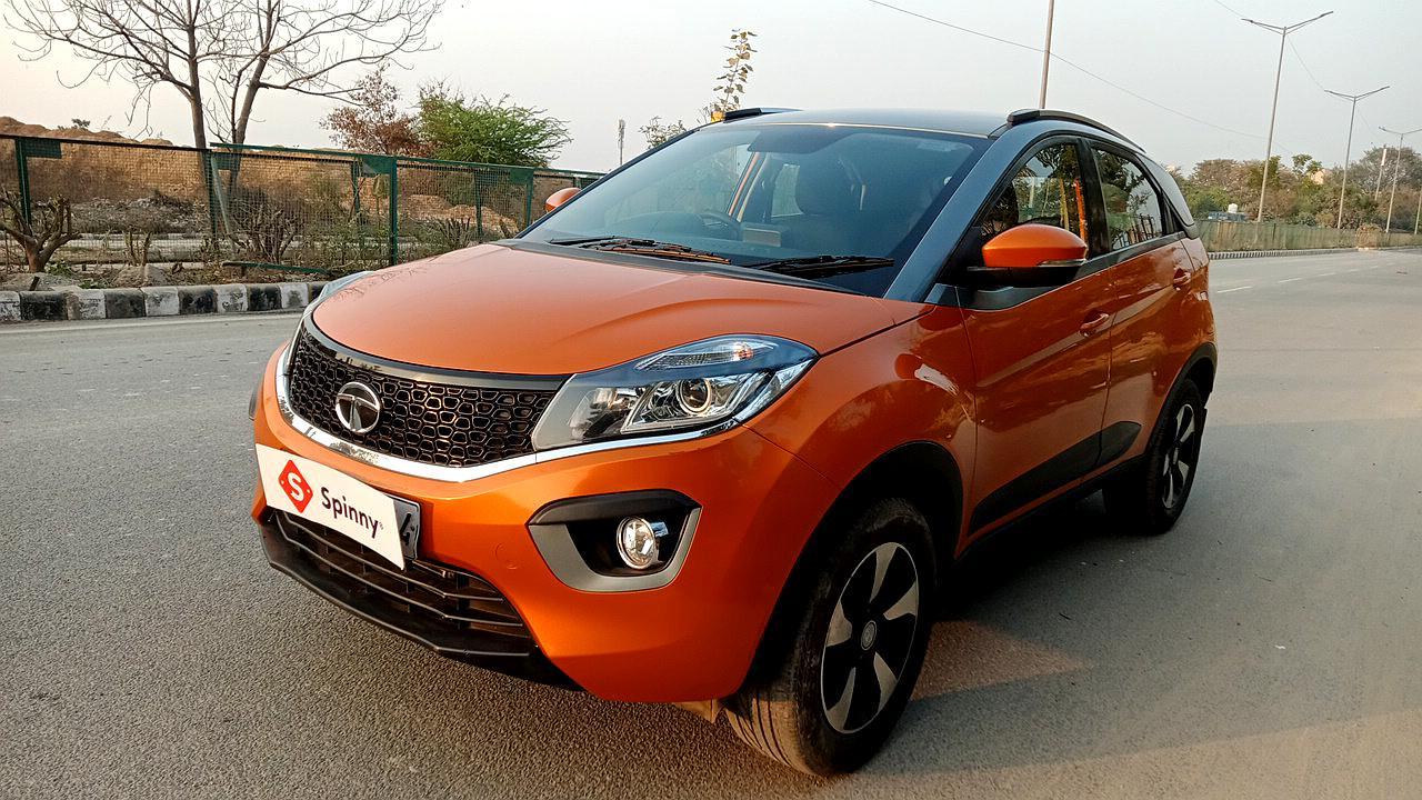 2018 Spinny Assured Tata Nexon XZA Plus