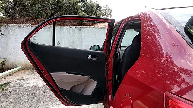 LEFT REAR DOOR OPEN VIEW