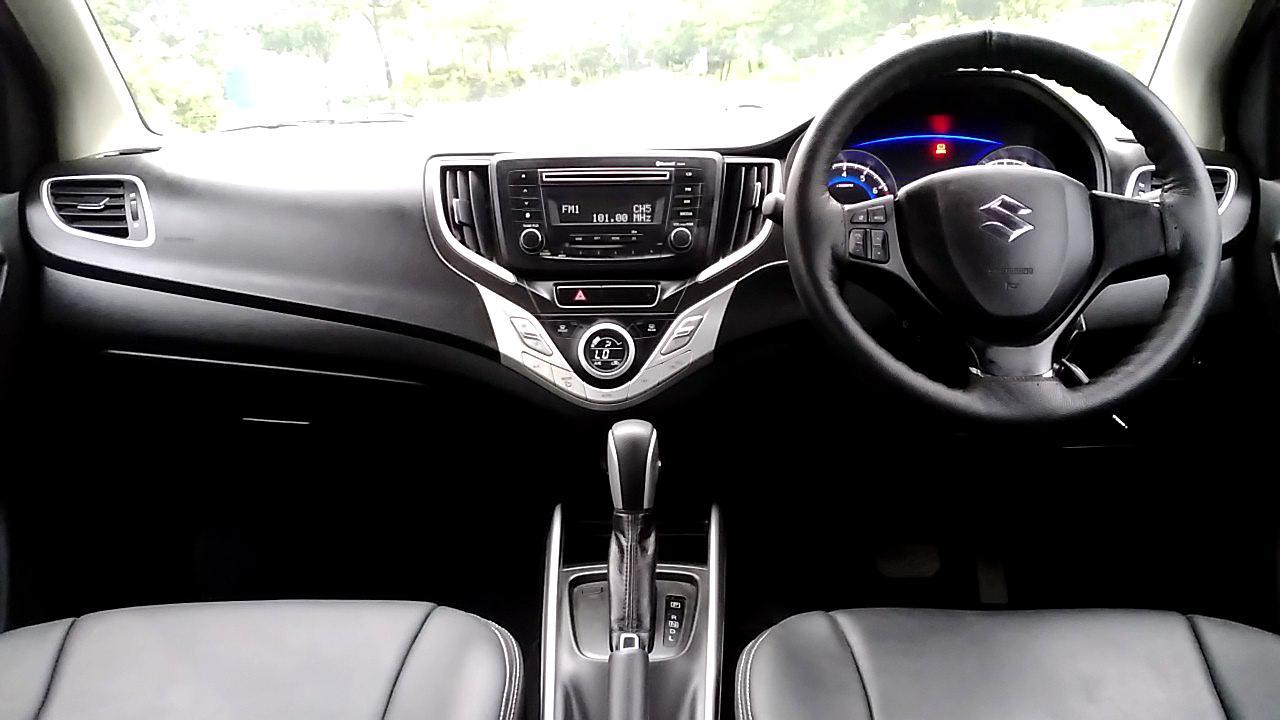 Spinny Assured Maruti Suzuki Baleno CVT interior