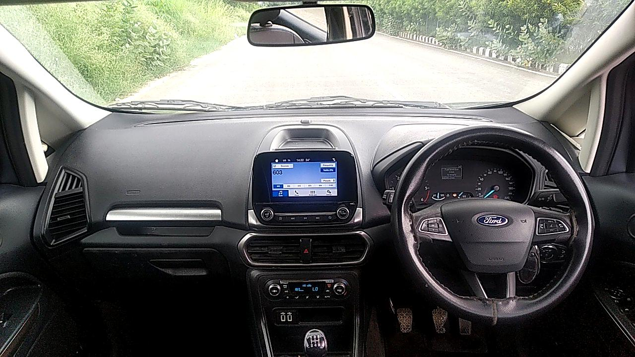 Spinny Assured 2018 Ford EcoSport interior dashboard