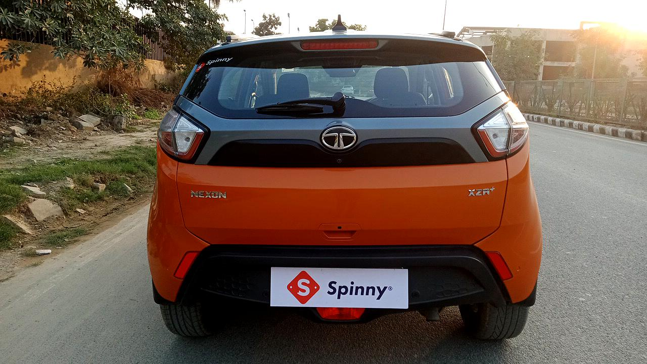 Spinny Assured Tata Nexon rear