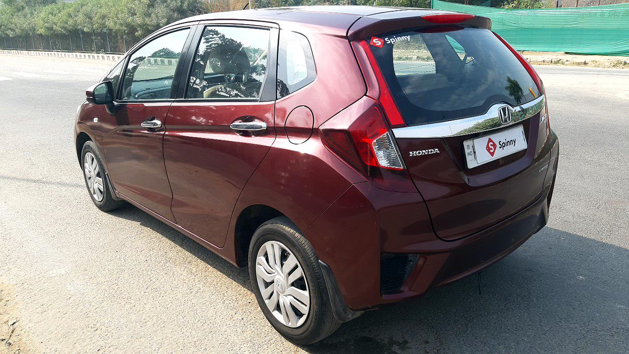 Spinny Assured Honda Jazz rear